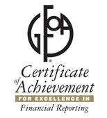 The Certificate of Achievement for Excellence in Financial Reporting has been awarded to City of Chicago Heights by Government Finance Officers Association