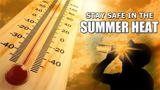 Stay Safe in the Summer Heat