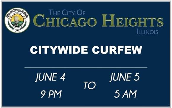 Citywide Curfew Notice