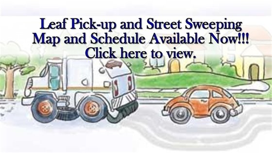Street Sweeping and Leaf Pick-up