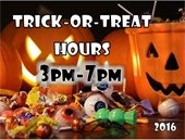 Trick or Treat Hours