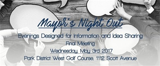 Final Meeting May 3rd 2017 CH West Golf Course
