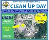 Clean Up Day May 13th 2017
