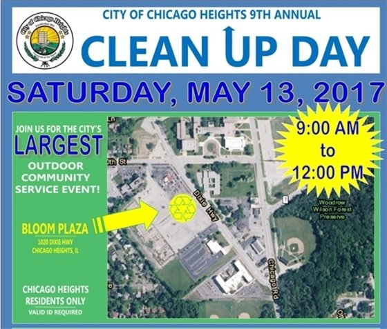 CLEAN UP DAY MAY 13 2017