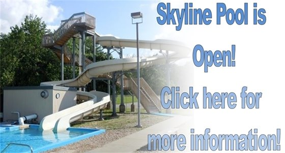 Skyline Pool is Open!