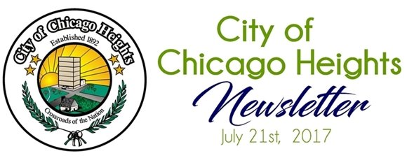 City of Chicago Heights Newsletter July 21, 2017