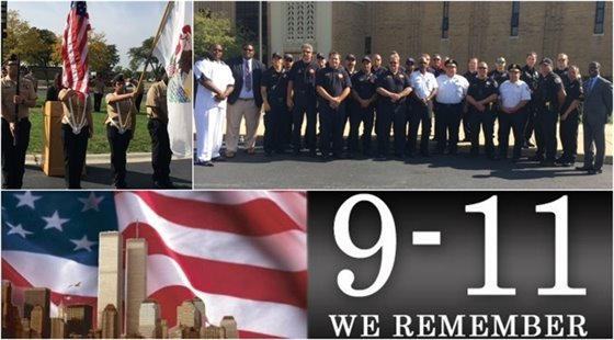 The City of Chicago Heights Remembered 9/11