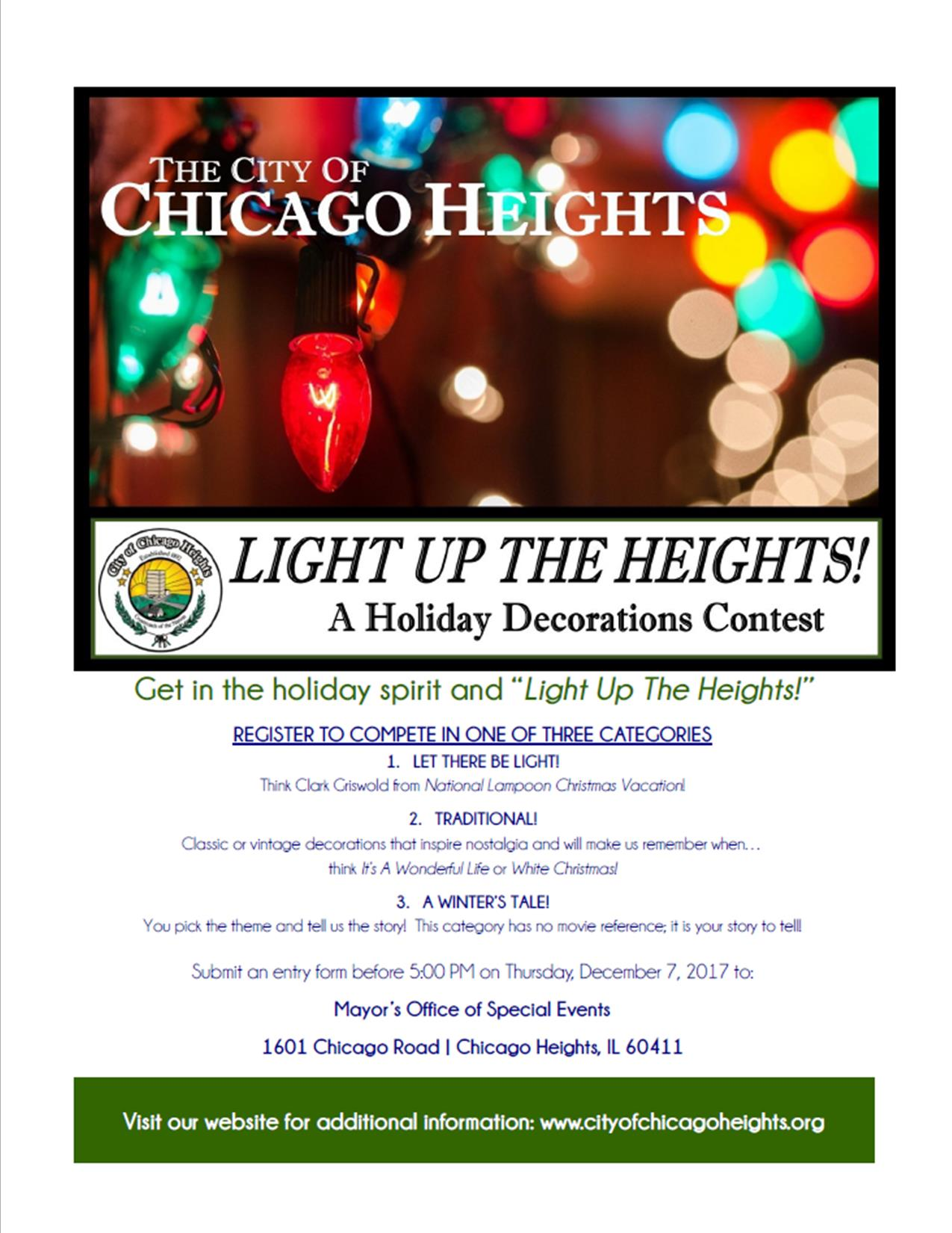 Light Up 2017 Main Flyer