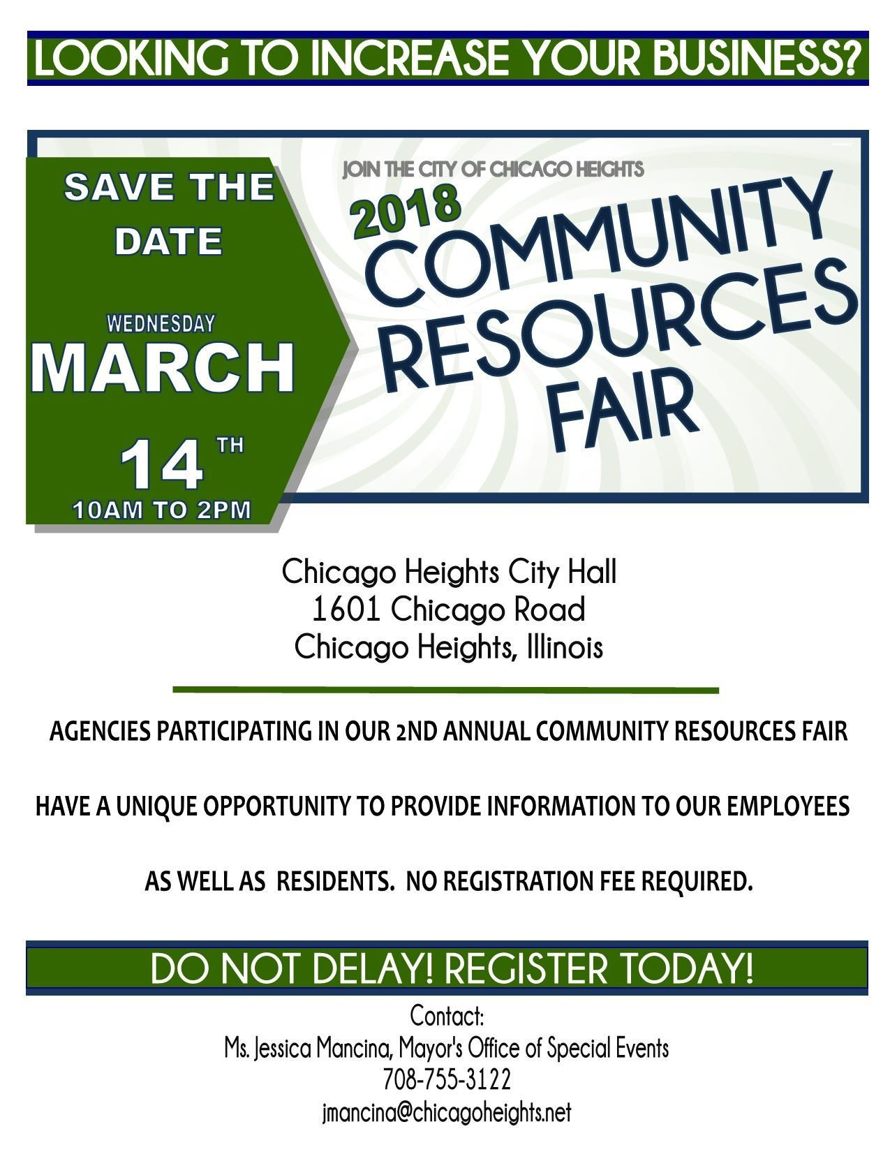 Resources Fair for agencies