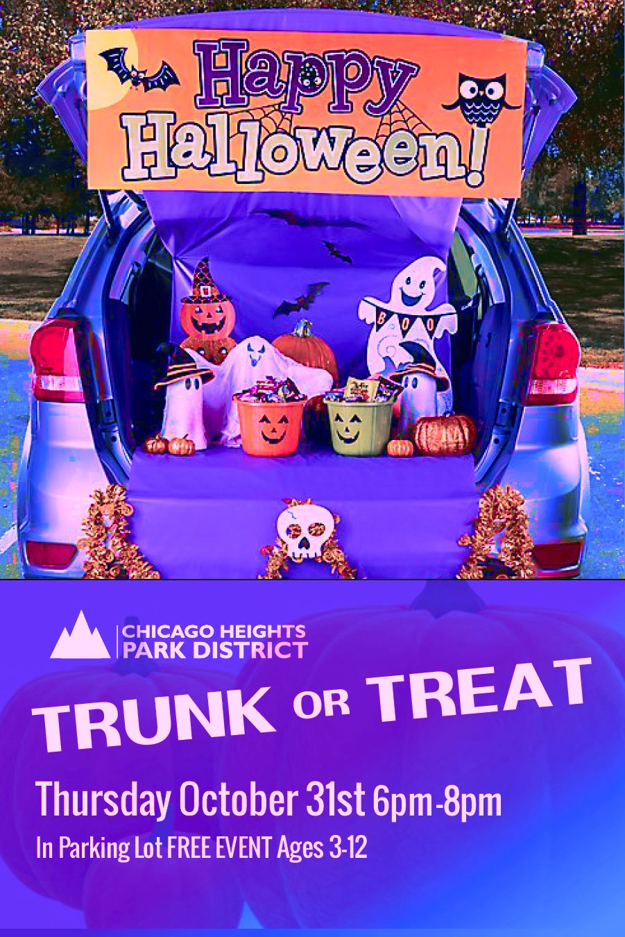 Flyer - C.H. Park District Trunk-or-Treat