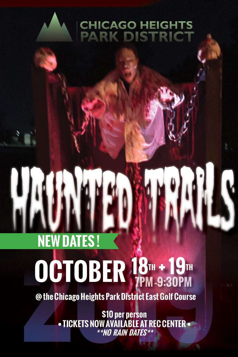Flyer - C.H. Park District Haunted Trails