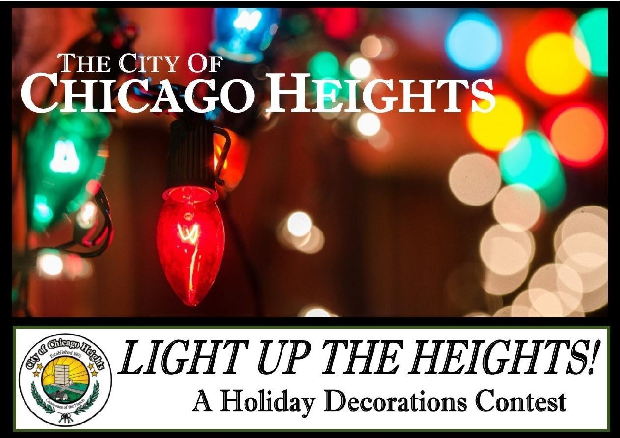 Light Up Chicago Heights Clip Art