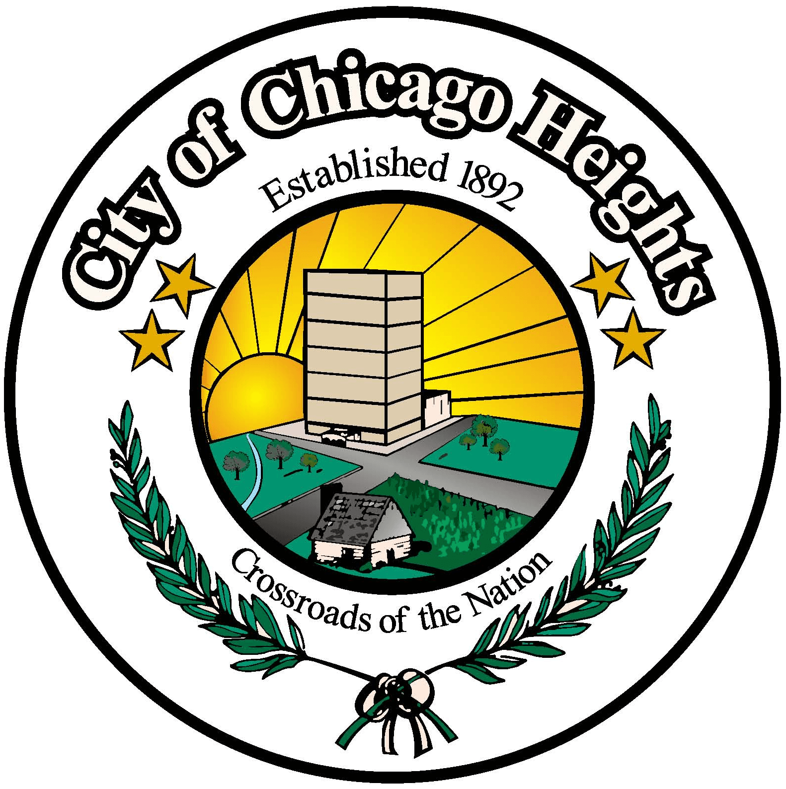 chicago heights il official website. Black Bedroom Furniture Sets. Home Design Ideas