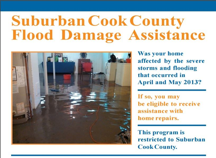 Suburban Cook County Flood Assistance