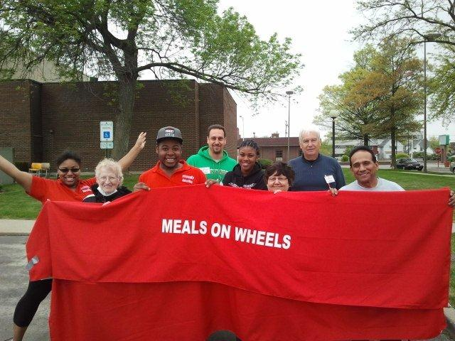 Meals on Wheels March for Meals -  Group shot with
