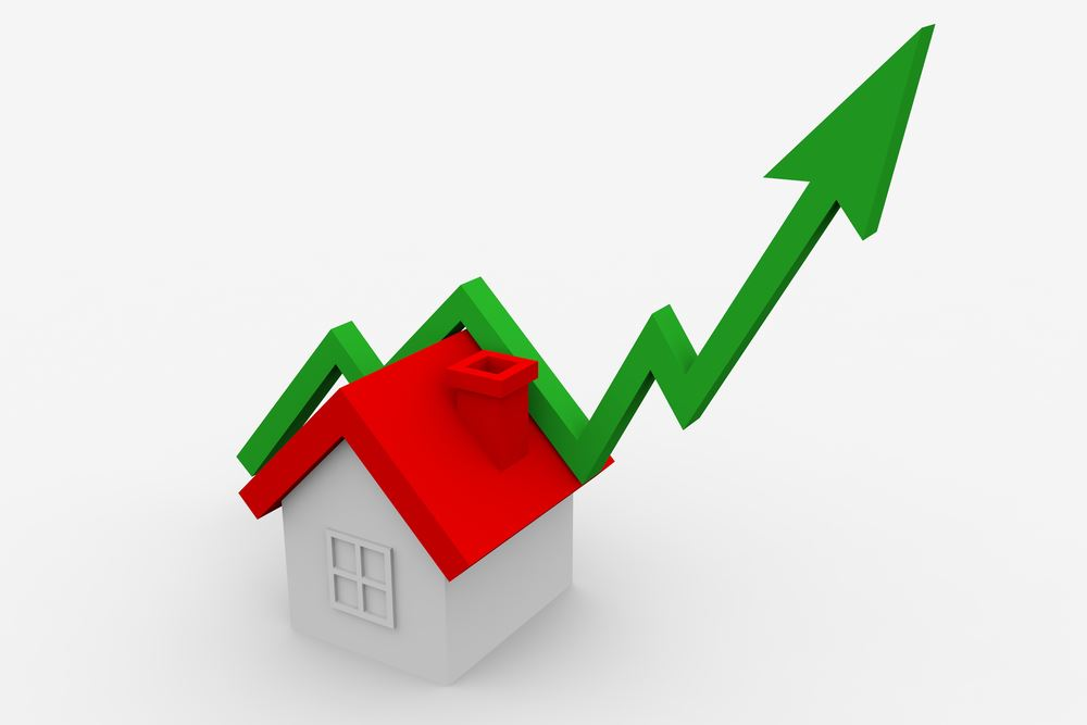 median home value increasing