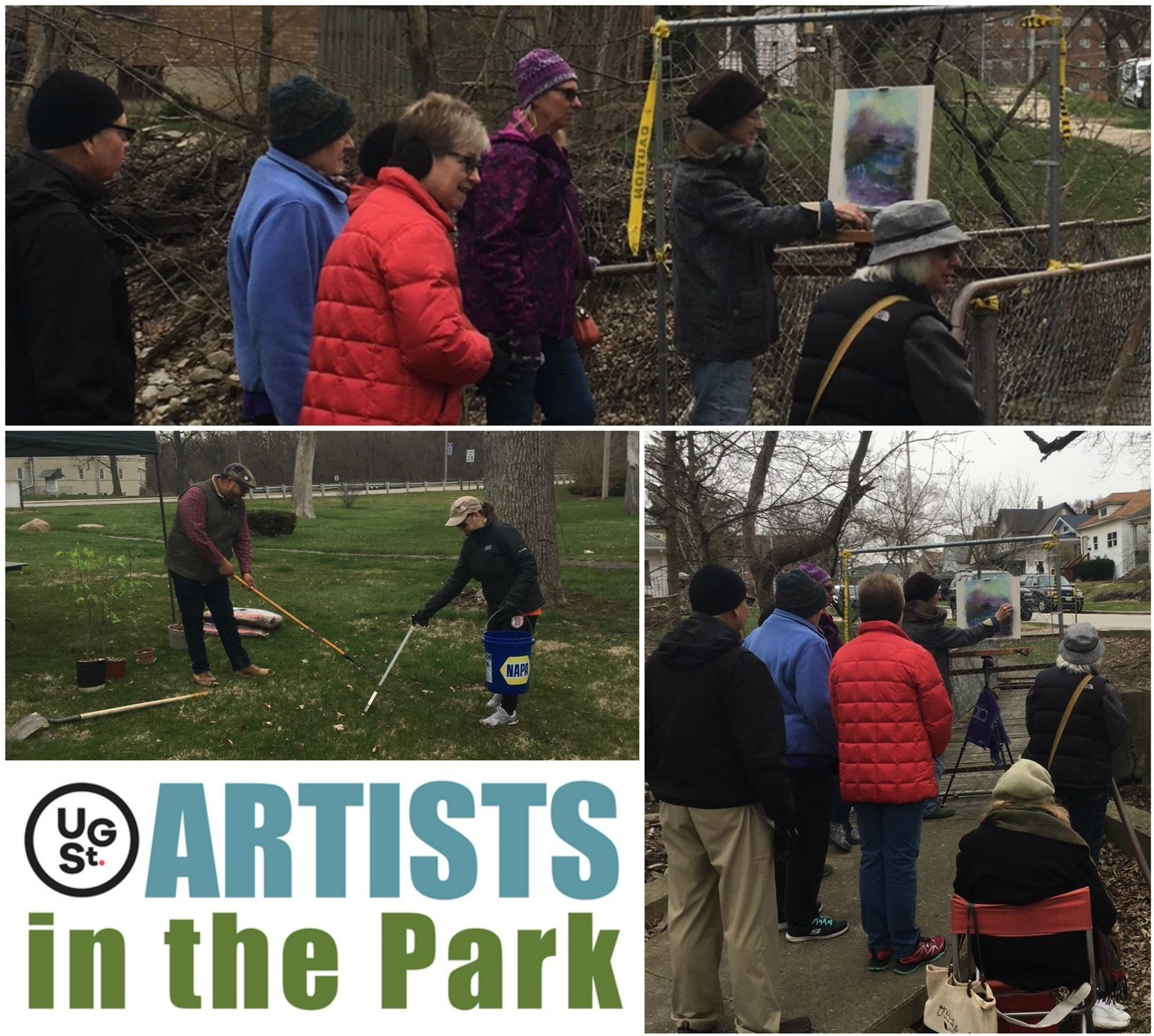 Artists in the park