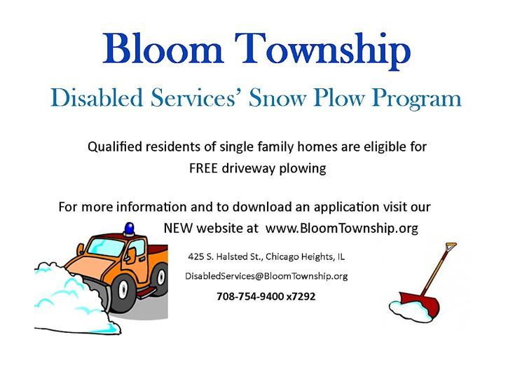 Bloom Township Snow Removal