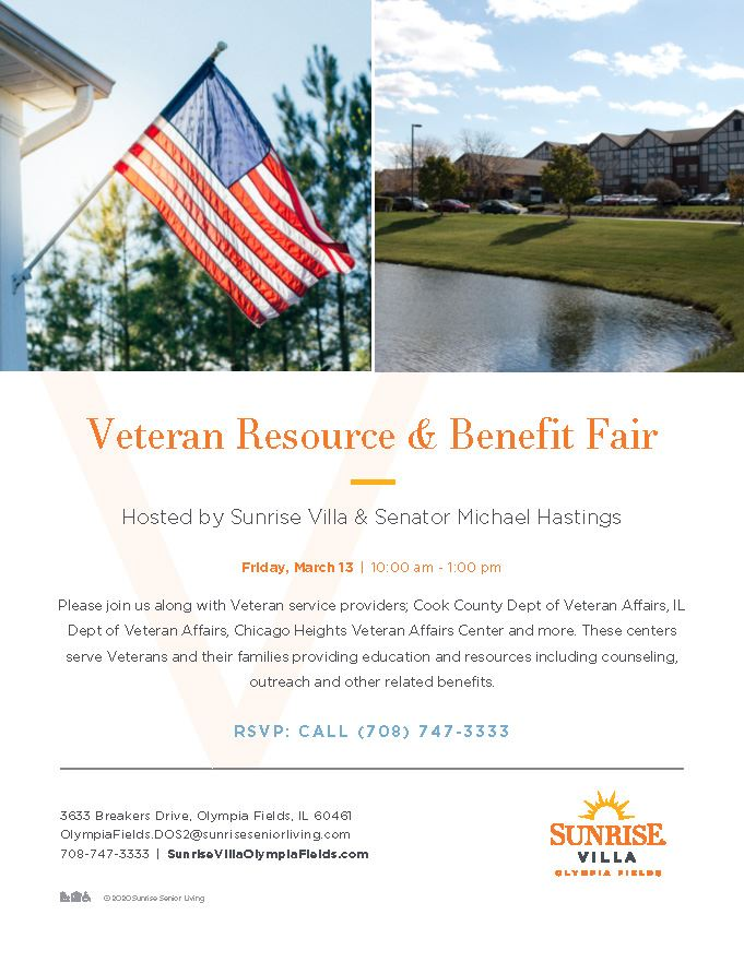 Veterans Resource and Benefit Fair March 13, 2020