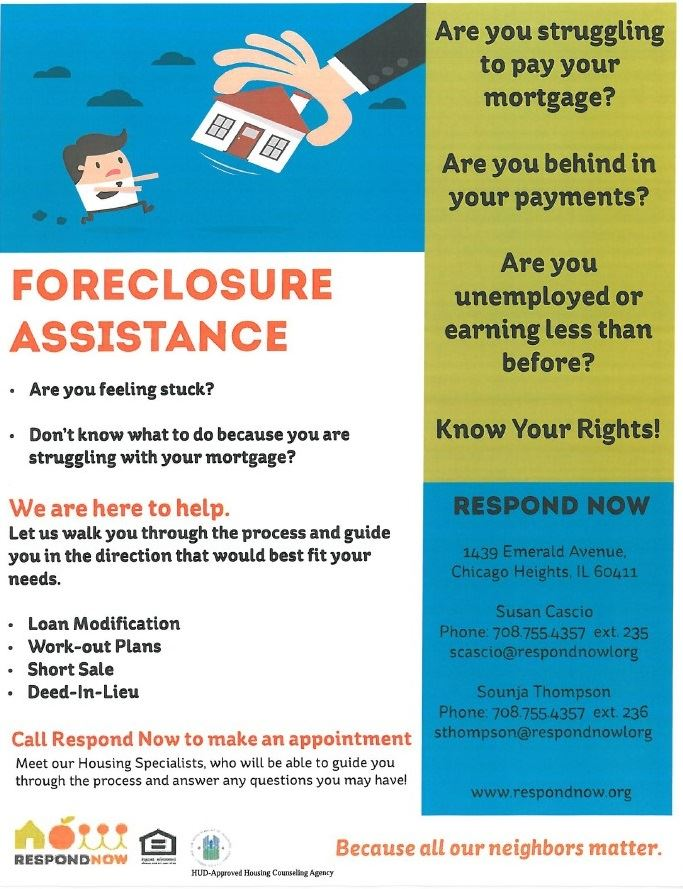 Foreclosure Assistance Flyer