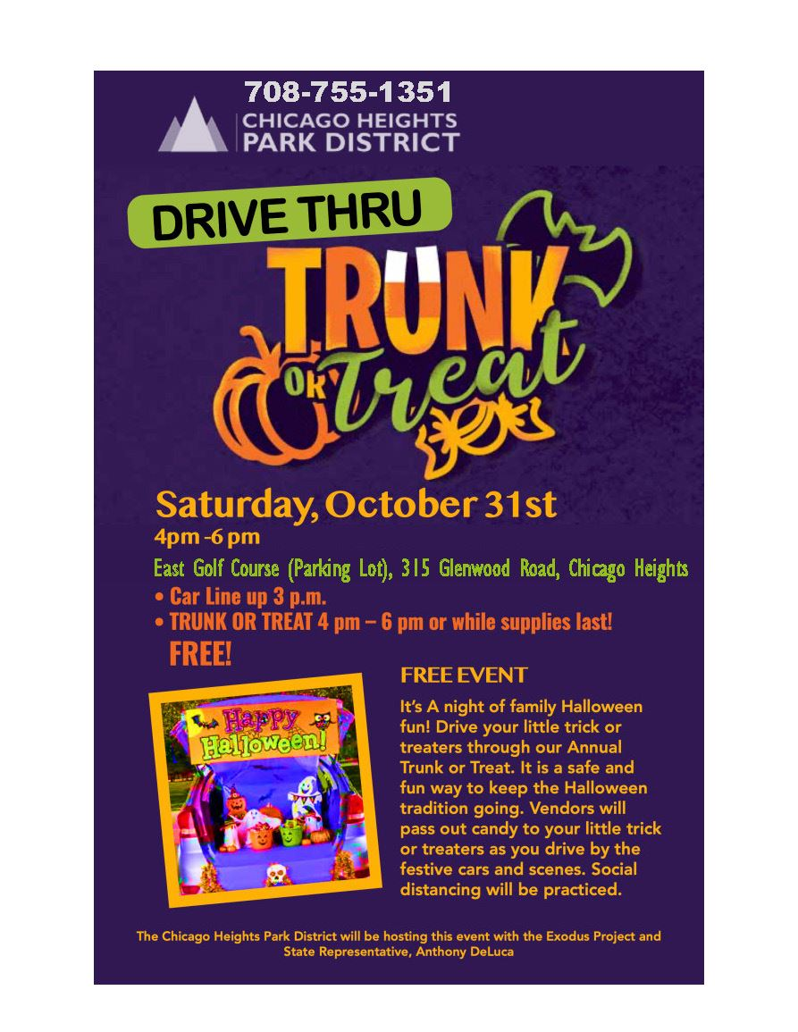 2020 Trunk-or-Treat Chicago Heights Park District