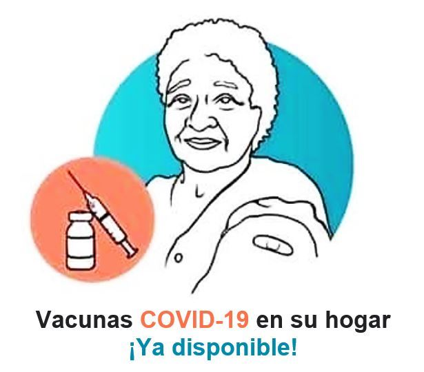 Image - In-home COVID-19 vaccinations - Spanish